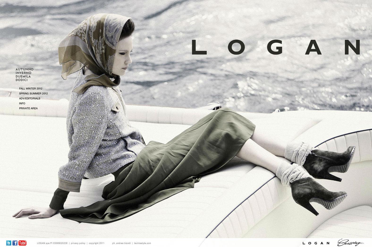 Logan, Nuovo Sito Online