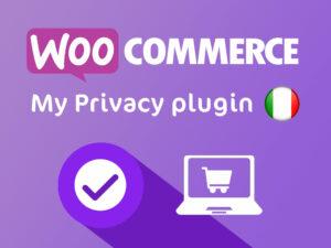 Gestione della privacy per il Plugin per WooCommerce
