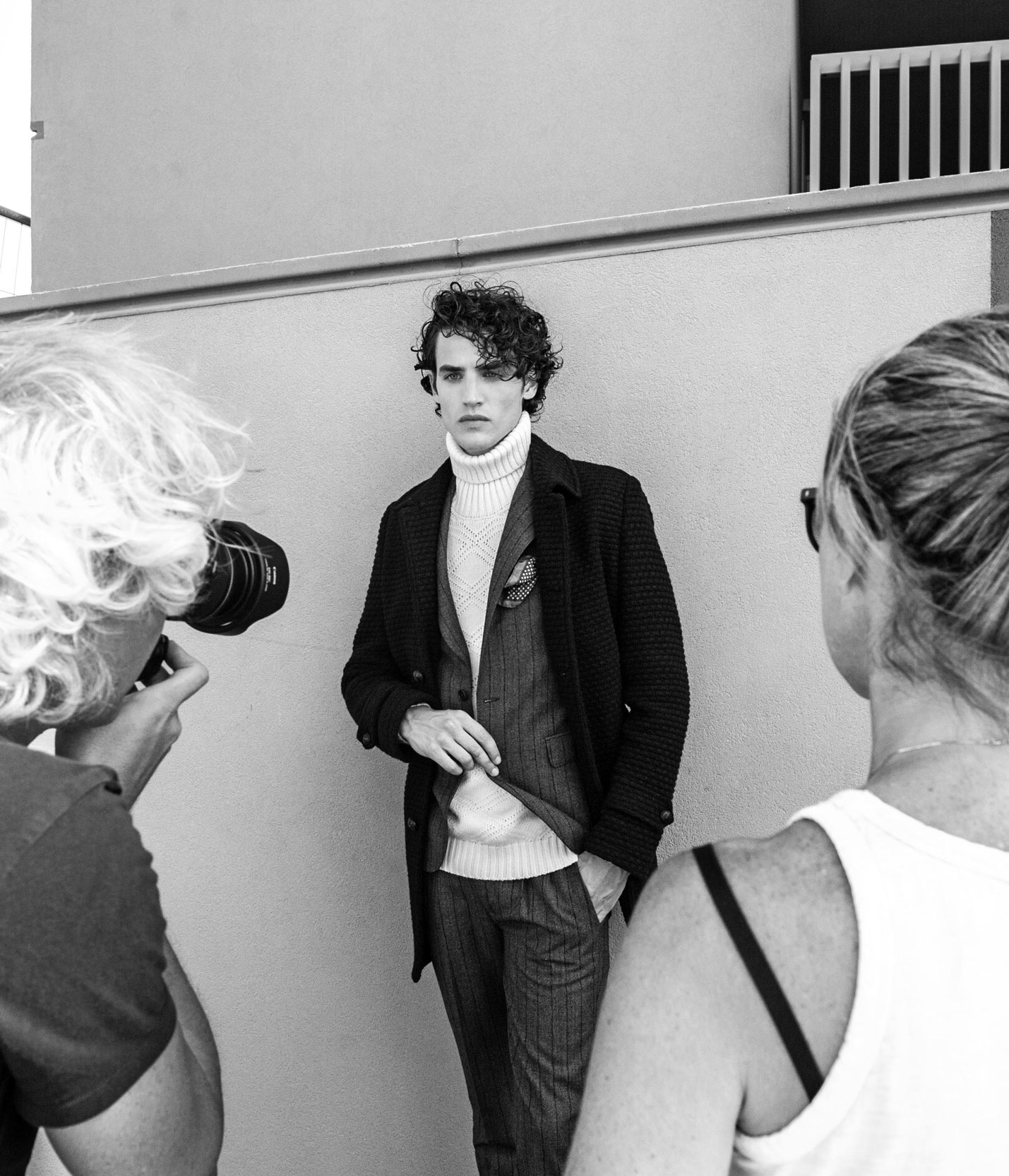 Backstage Photography For Jeordie's Fashion