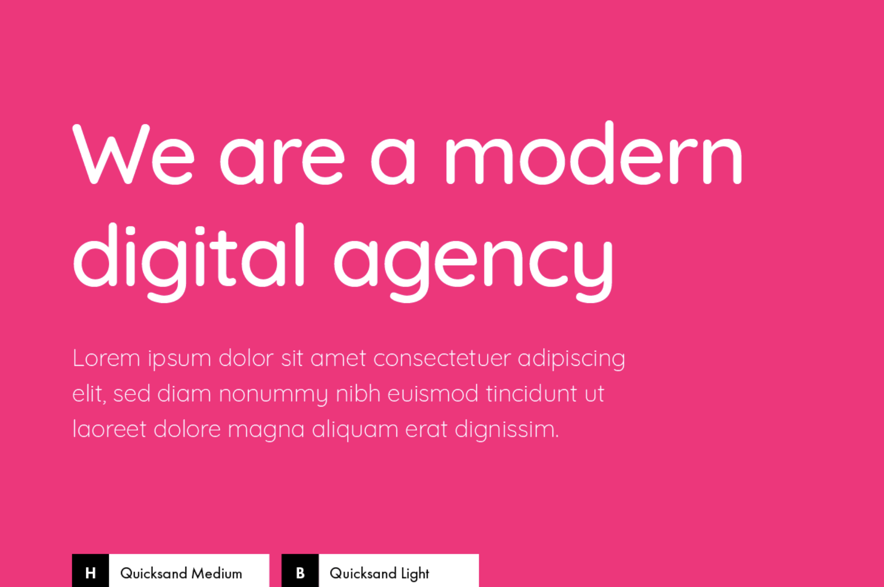 Choose Fonts For A Modern Company